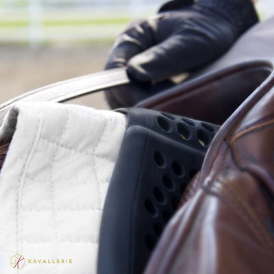 KAVALLERIE Equestrian Gear - Horse Saddle Pad-Anti-Slip Gel - Front Riser