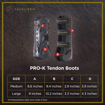 Pro-K 3D Air-Mesh Tendon Boots