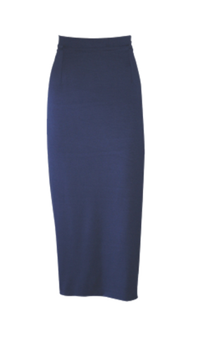 NAVY THINLINE SKIRT