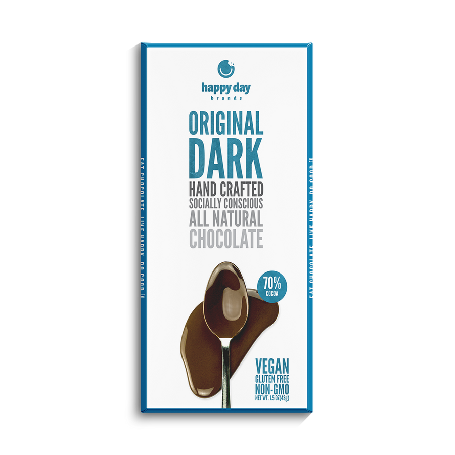 6 PACK DARK CHOCOLATE 70% COCOA - ALL NATURAL