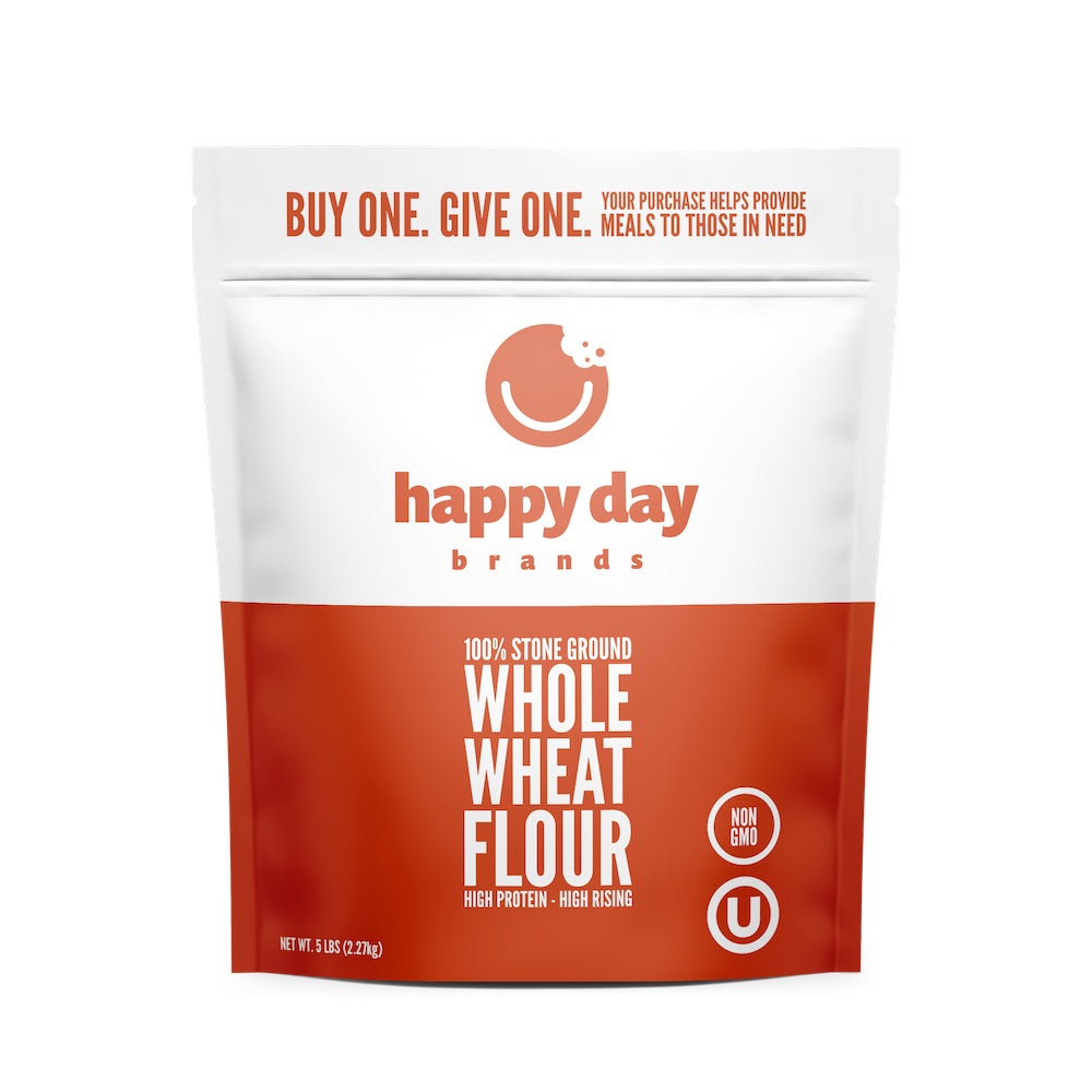100% Stone Ground Whole Wheat Flour