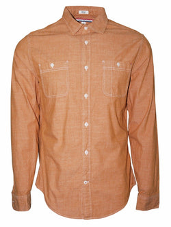 Tommy Hilfiger Men's Reactive Long Sleeve Button Down Utility Shirt (M)