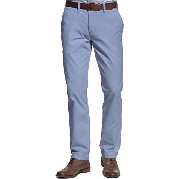 Tommy Hilfiger Men's Custom Fit Chino Pants Hawthorne Blue 30Wx30L