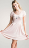 R+J Powder Pink 'Dreaming Of You' Dress