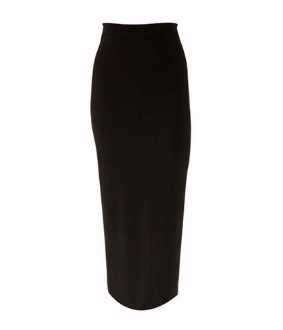 Black Thinline Skirt