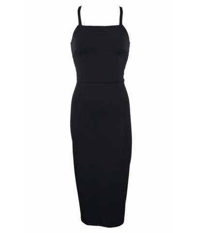 Black Thinline Dress