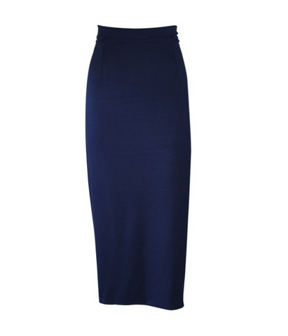 Deep Blue Thinline Skirt
