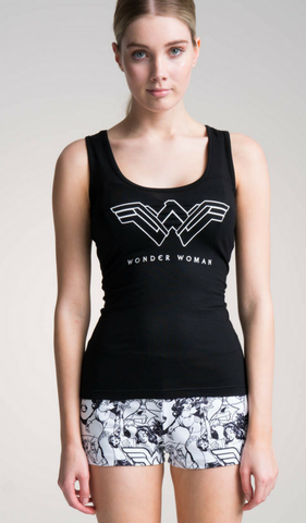 WONDER WOMAN Girl Power Singlet Tee