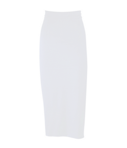 Iceberg White Thinline Skirt