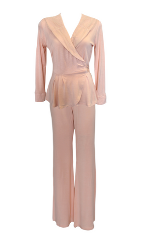 Screen Siren Vintage Tearose PJ Top