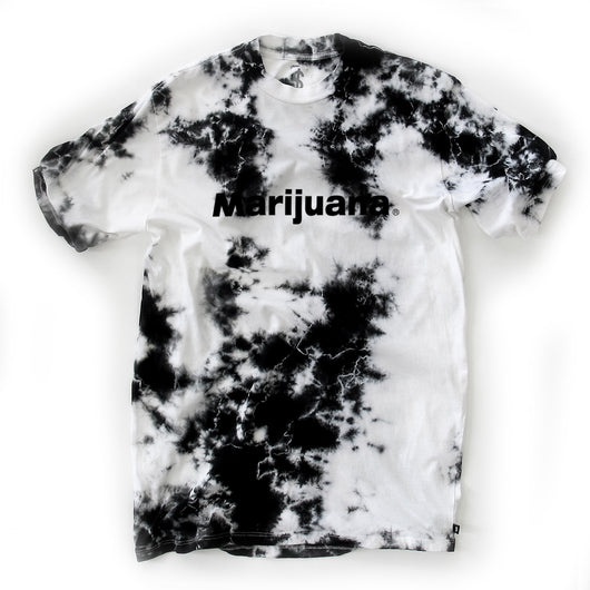 JMONEY - MARIJUANA® MARBLED TSHIRT