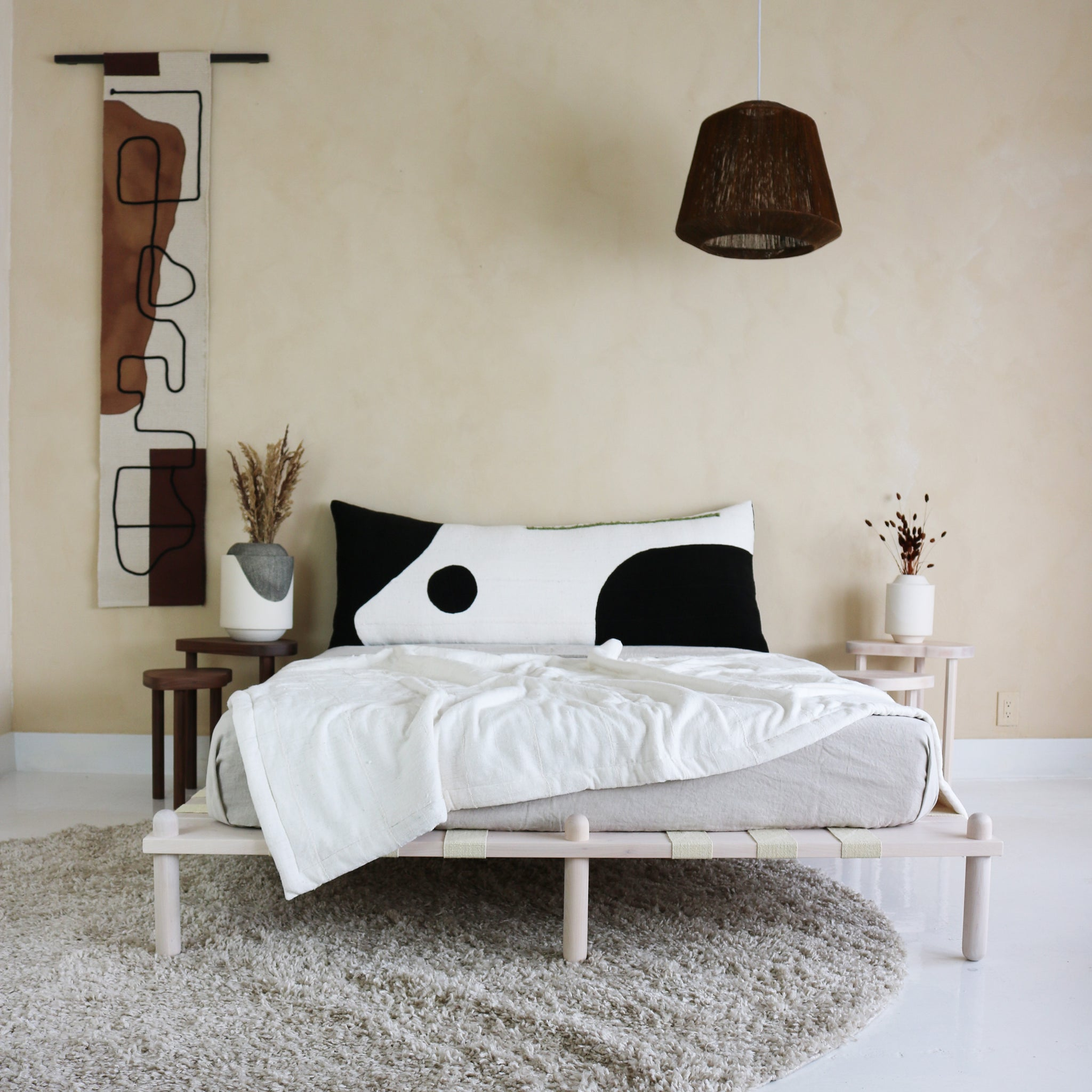 CAPSULE PLATFORM BEDFRAME  maple