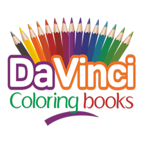 davinci coloring books