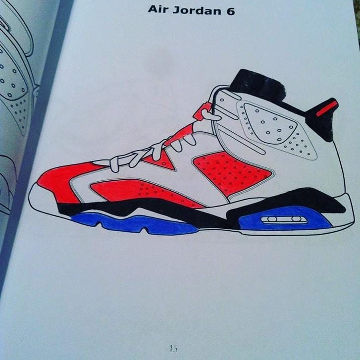 [Air Jordan coloring book] - ColoringBookLife
