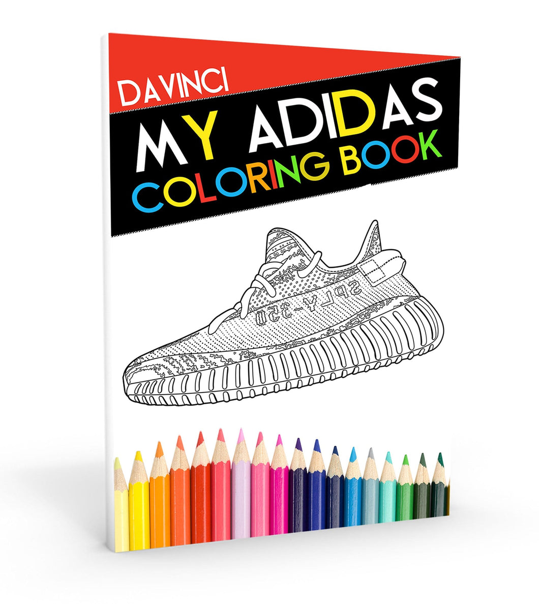 Air Jordan Coloring Book And Sneaker Head