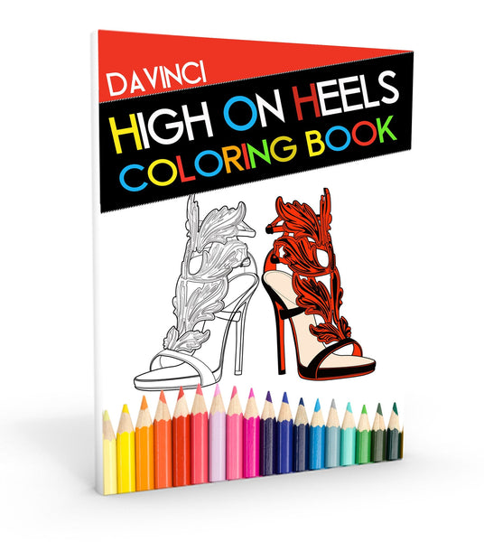 High On Heels Coloring