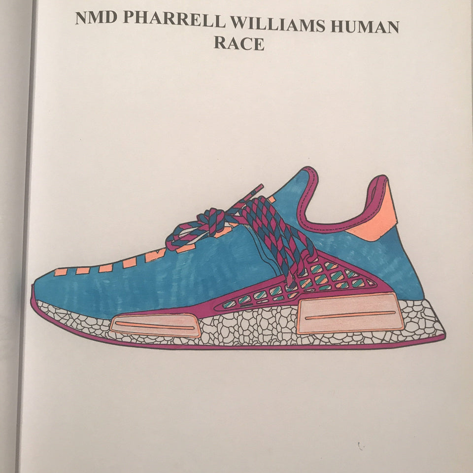 My Adidas Coloring Book Coloringbooklife