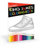 LeBron James Coloring Book