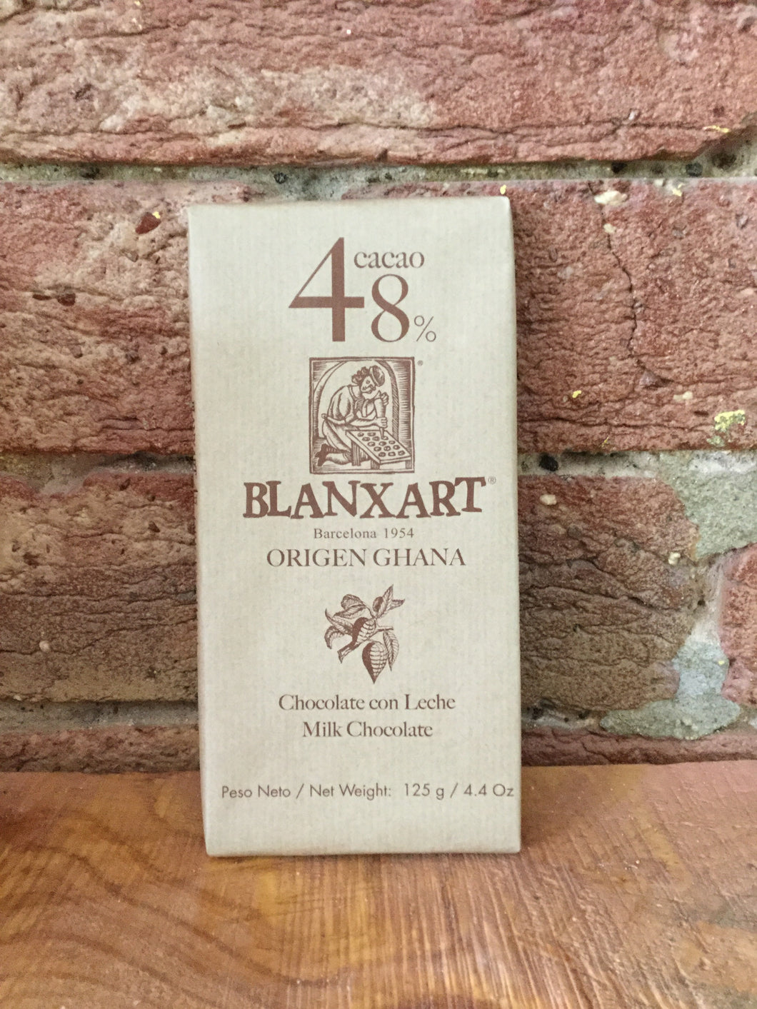 Blanxart - 48% Milk Chocolate - 125g