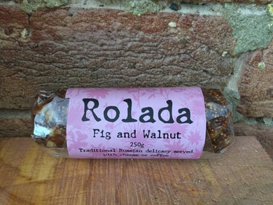 Sassy Foods - Fig & Walnut Rolada