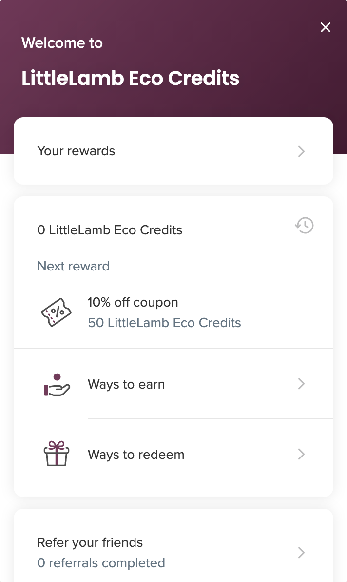 login to ecocredits