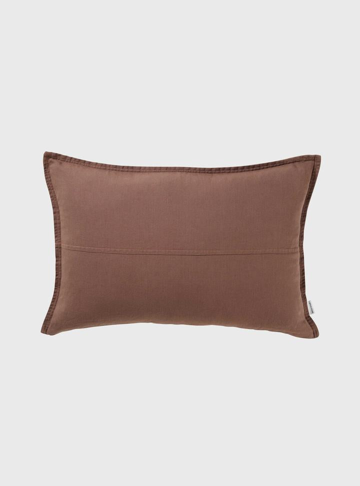 Nutmeg Pannelled Cushion 60 x 40cm