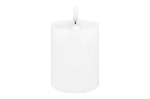 Lux Nordic Flameless Pillar Candle 3