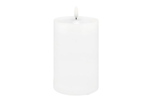 Lux Nordic Flameless Pillar Candle 4