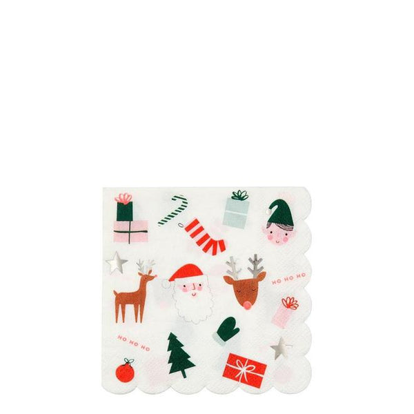 Festive Icons Small Napkins