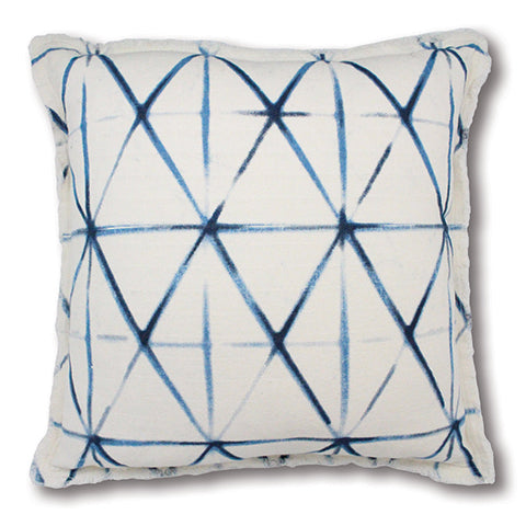 Diamond Indigo Cushion