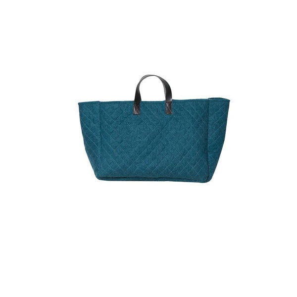 Geo Basket- Teal