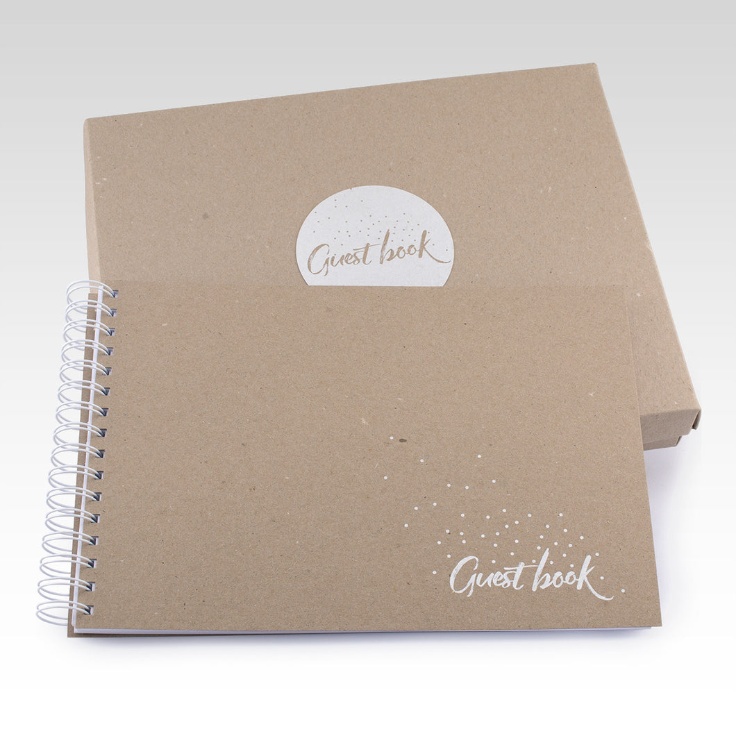 Guest Book with Box