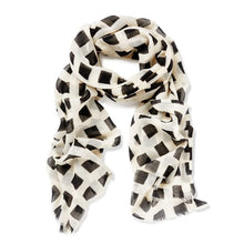 Melody Black Wool Scarf