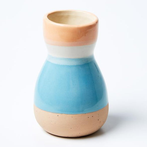 Saturday Vase Peach Sand