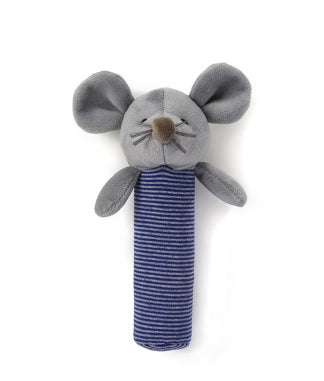 Mouse Rattle - Blue