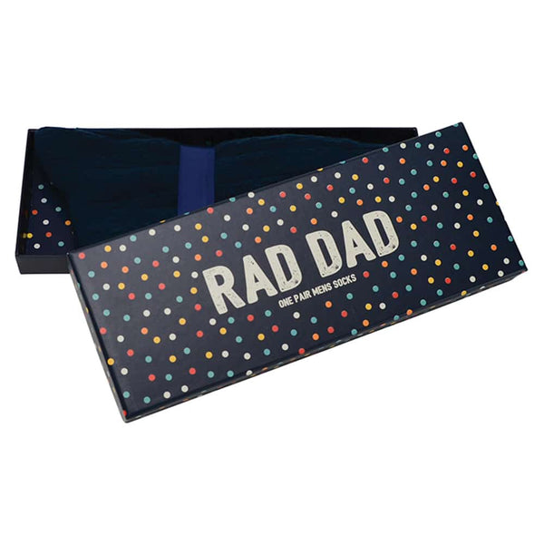 Rad Dad Boxed Socks
