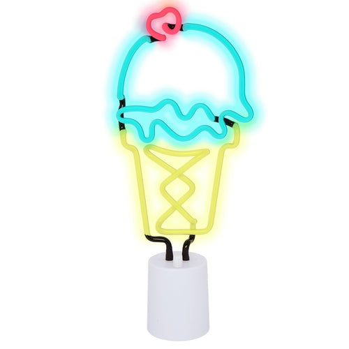 Ice Cream Neon Light