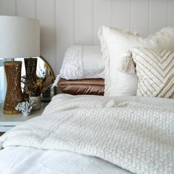 Soho Ivory Throw