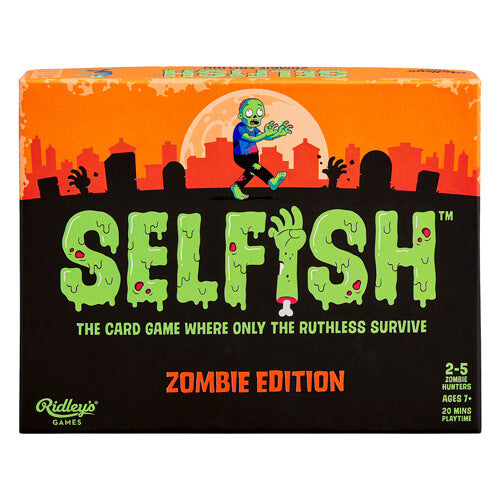 Selfish 'Zombie Edition' Card Game