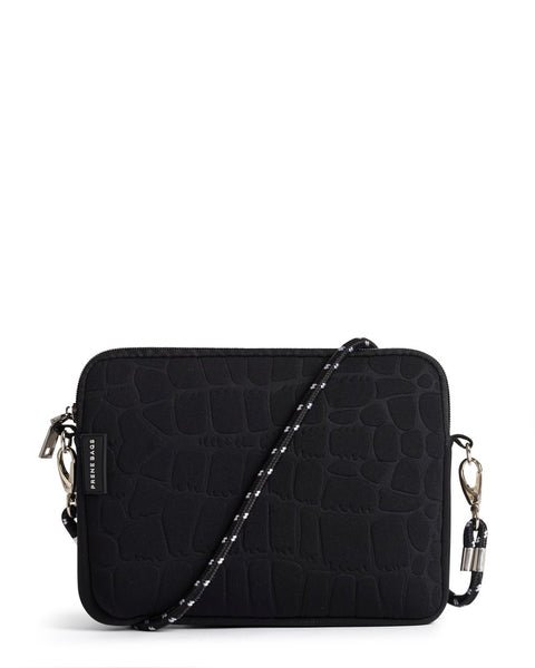 The Wild Pixie Bag (Black Croc)