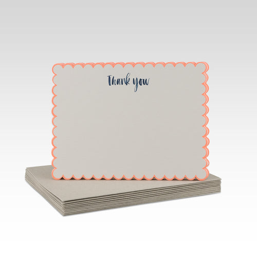 Thankyou Notecards- Pack of 10