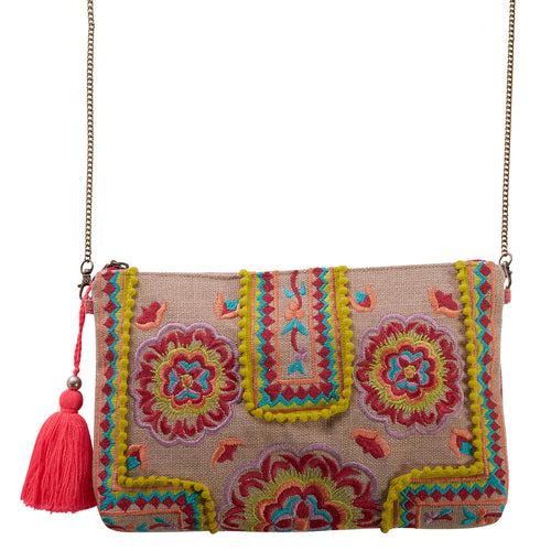 Bohemia Meadow Clutch