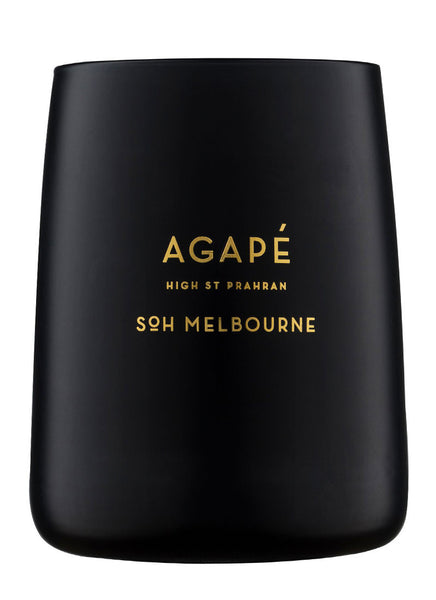 Agape Black Matte Candle