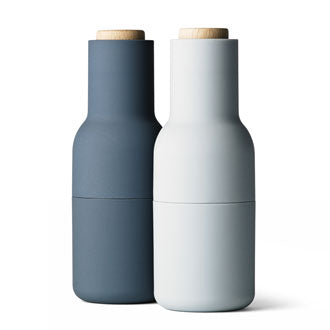 Salt & Pepper Bottle Grinders - Blue