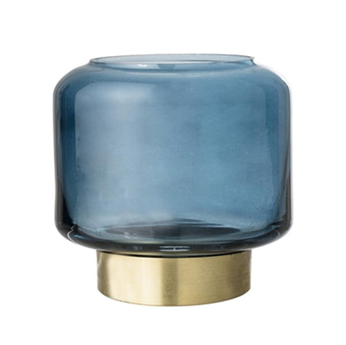 Blue Glass Votive