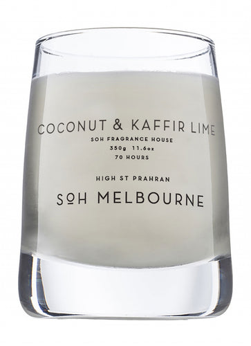 Coconut & Kaffir Lime Glass Candle