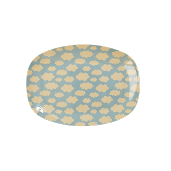 Melamine Cloud - Small Plate / Small Cup