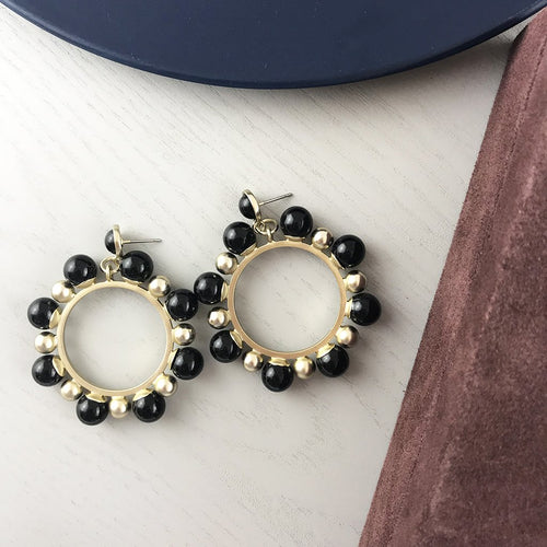 Francis Earring- Black