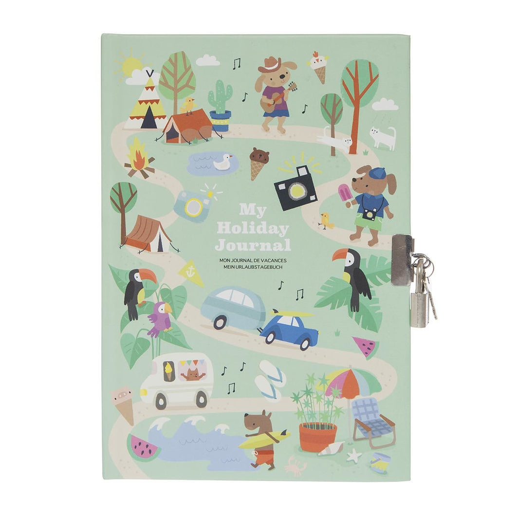 My Holiday Journal Lockable Diary