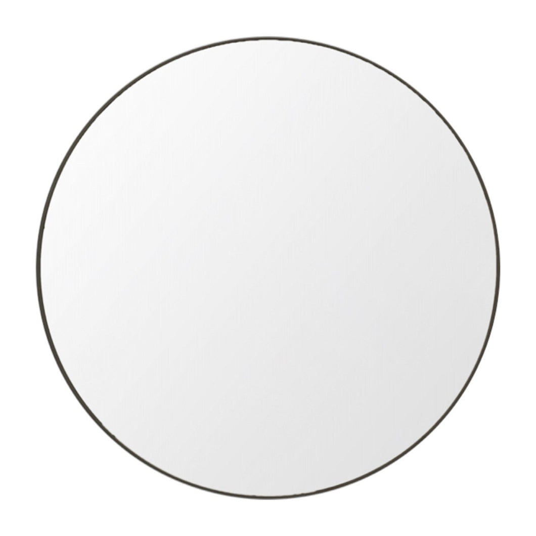 Flynn Round Mirror Black (Various Sizes)